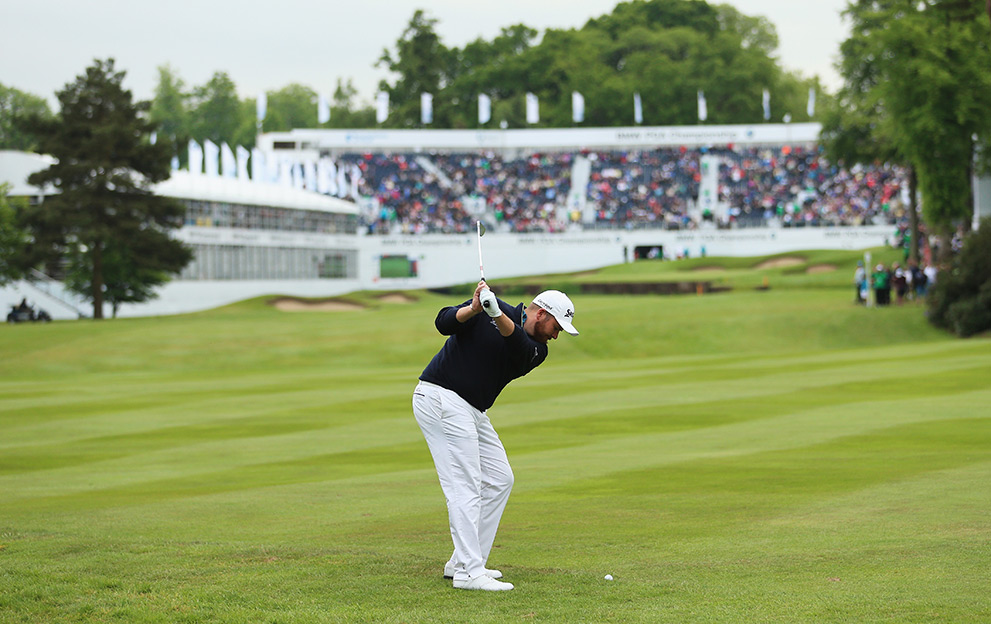 Shane-Lowry-Wentworth-approach-shot