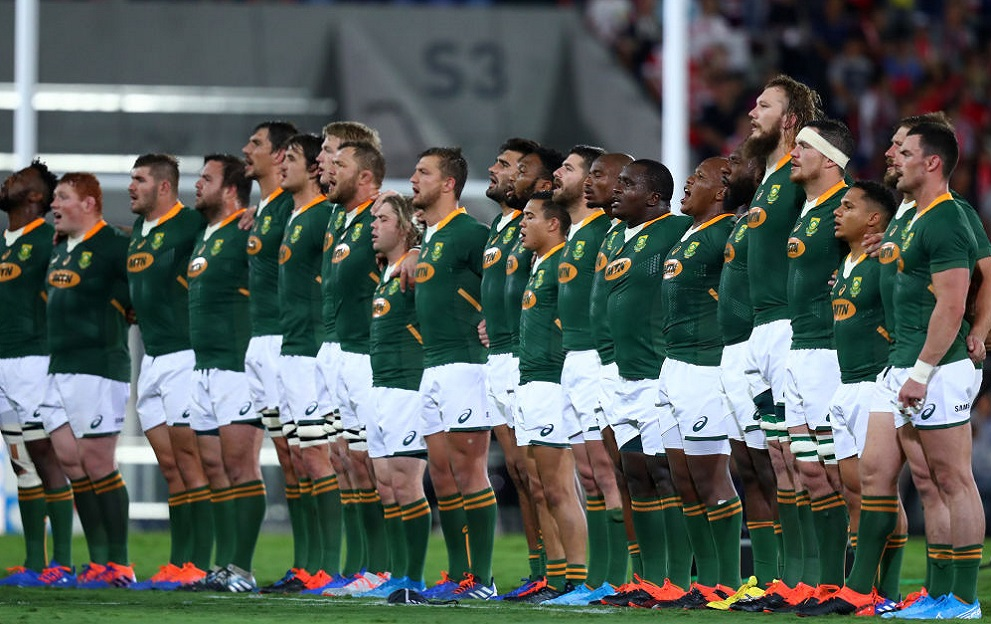 South Africa rugby team Springboks