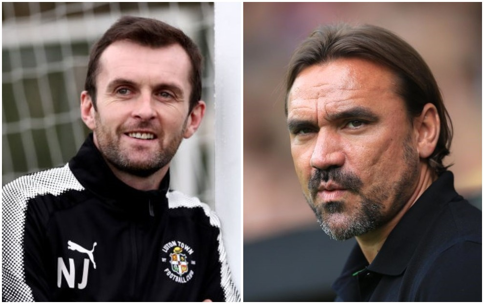 Nathan Jones Daniel Farke