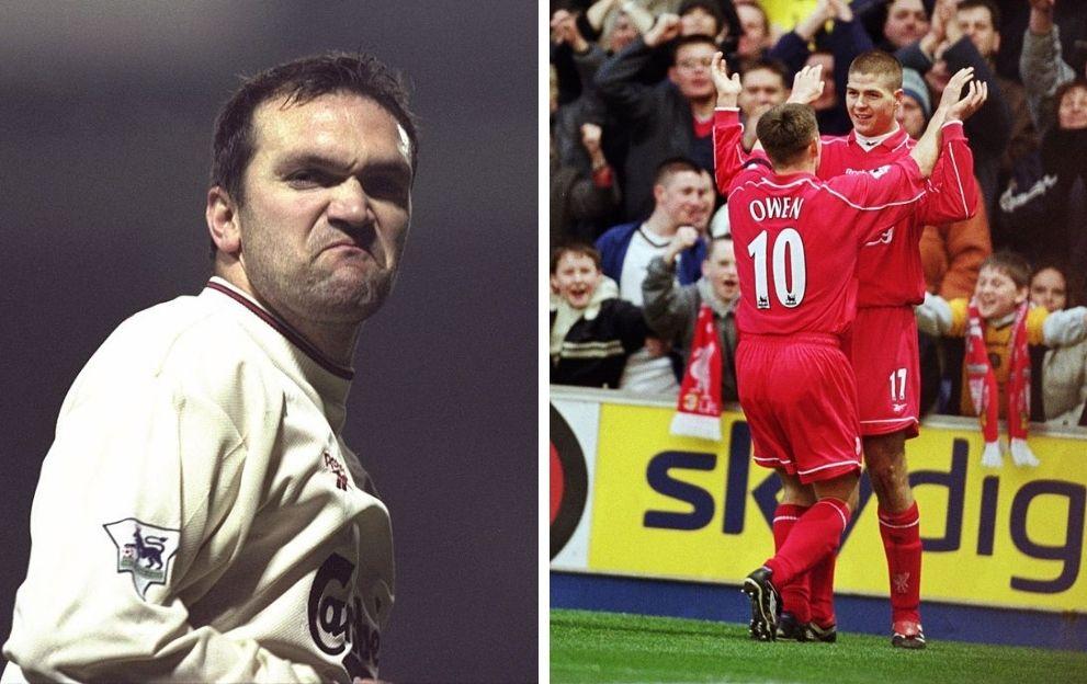 Neil Ruddock Liverpool Steven Gerrard Michael Owen