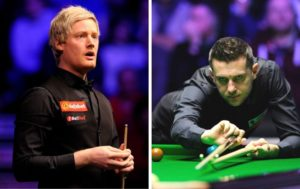 Neil Robertson Mark Selby The Masters