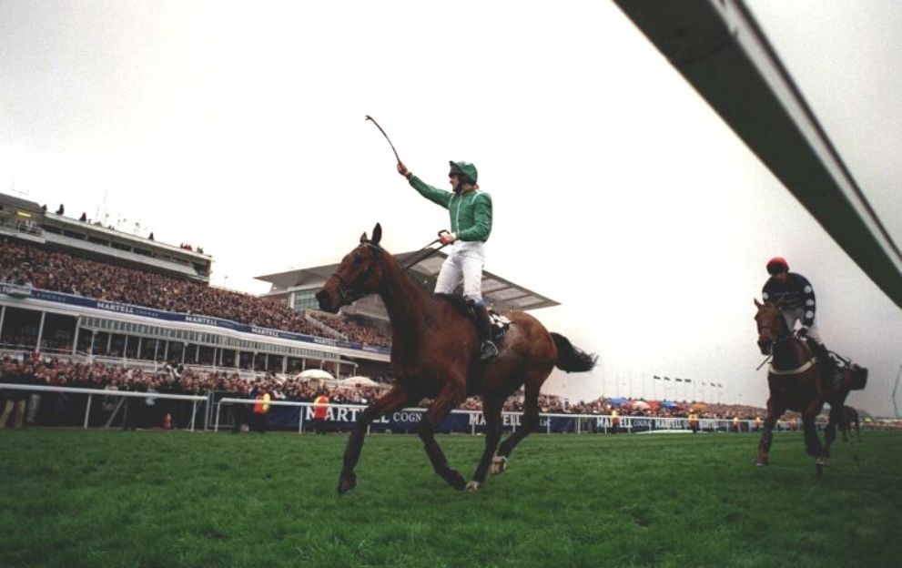 Ruby Walsh Papillon Grand National Aintree April 8, 2000