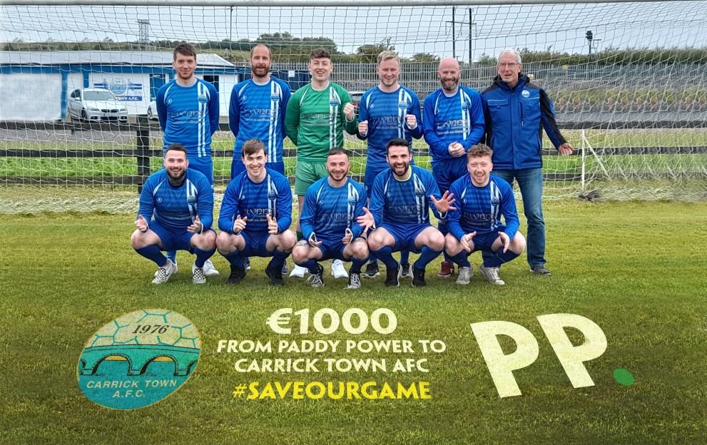 Carrick Town FC saveourgame